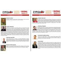 Υποψήφιοι βουλευτές ΣΥΡΙΖΑ - ΕΥΒΟΙΑ