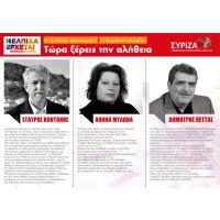 Υποψήφιοι βουλευτές ΣΥΡΙΖΑ - ΖΑΚΥΝΘΟΣ