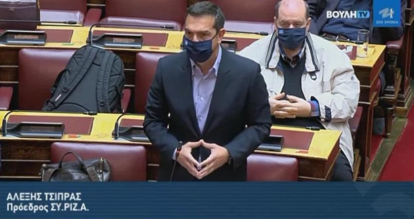 Αλ. Τσίπρας: Κυβερνάτε με αθλιότητες, λαϊκισμό και fake news - Να ανασταλεί η συζήτηση του νομοσχεδίου για την παιδεία