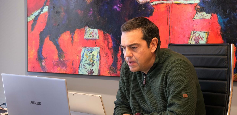 Αλ. Τσίπρας: Ο στόχος μας ένα πρόγραμμα ριζοσπαστικό αλλά ταυτόχρονα ρεαλιστικό, υλοποιήσιμο για ένα μέλλον χωρίς αποκλεισμούς