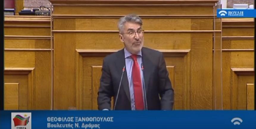 Θ. Ξανθόπουλος: Κινήσεις πανικού της κυβέρνησης στην υπόθεση Λιγνάδη-Καμία πρόνοια, καμία ενίσχυση των αναπήρων κατά την πανδημία - βίντεο