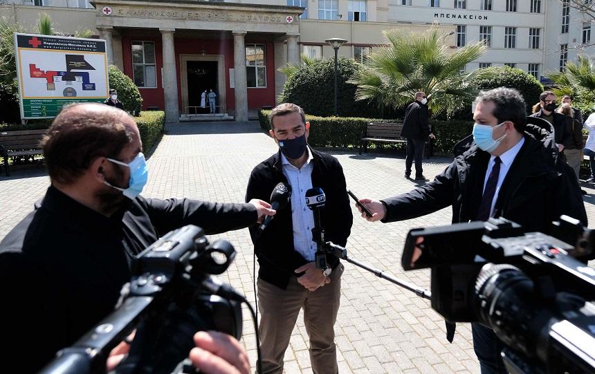 Αλ. Τσίπρας: «Εικόνα κατάστασης πολέμου στα νοσοκομεία - Να επιταχθούν οι ιδιωτικές κλινικές» - βίντεο