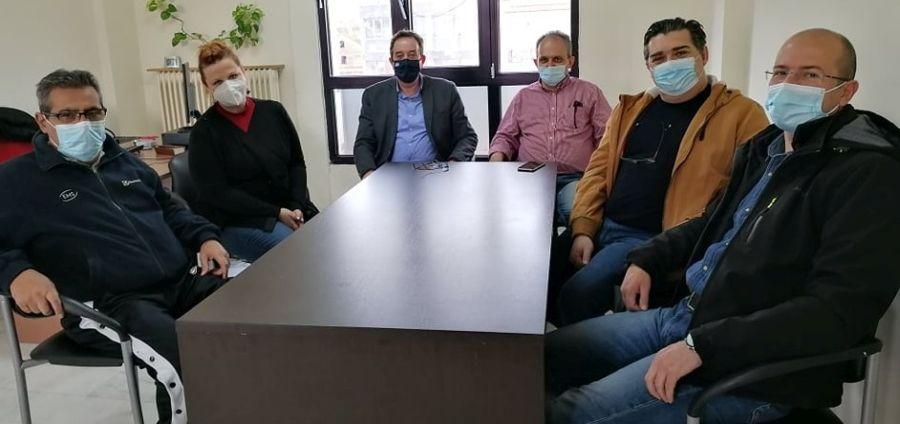 Οι αντεργατικές ρυθμίσεις της κυβέρνησης στο επίκεντρο συνάντησης αντιπροσωπείας του ΣΥΡΙΖΑ-ΠΣ Ροδόπης με το σωματείο εργαζομένων DIAXON