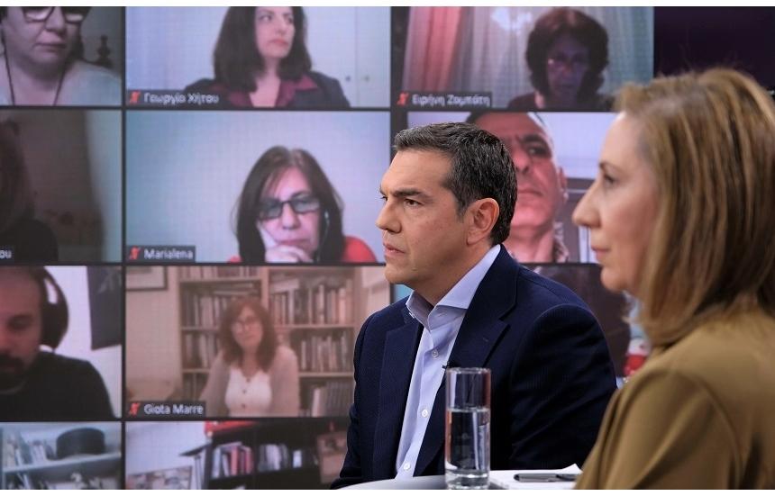 Αλ. Τσίπρας: Ενώνουμε δυνάμεις για το 8ωρο, τις συλλογικές συμβάσεις και την πληρωμή των υπερωριών