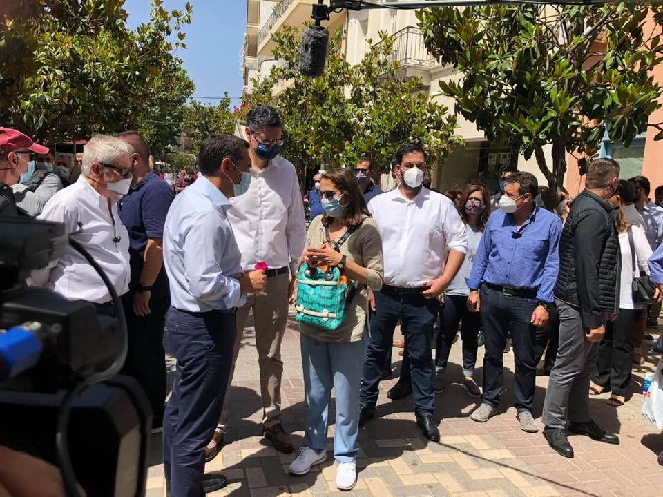 Επίσκεψη του Αλέξη Τσίπρα στην Ηλεία