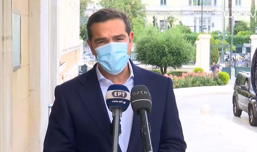 Αλ. Τσίπρας: Φιμώνουν για να κρύψουν πως η ΝΔ είναι χρεοκοπημένη και ο Μητσοτάκης στρατηγικός κακοπληρωτής