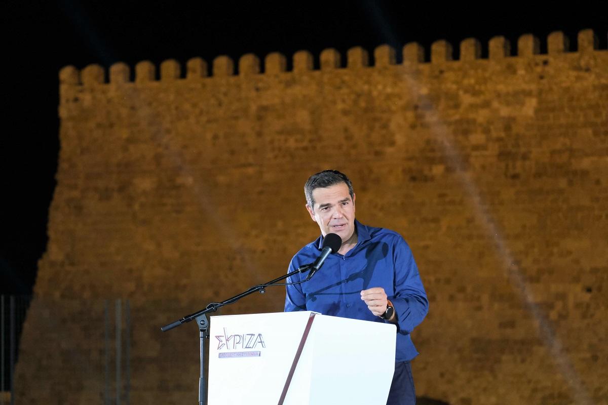 Αλ. Τσίπρας: Ο λαός να στείλει τον Μητσοτάκη σπίτι του το συντομότερο δυνατό