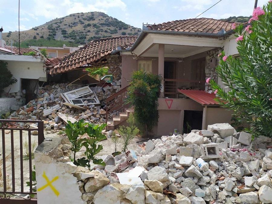 Από το σεισμόπληκτο Δαμάσι