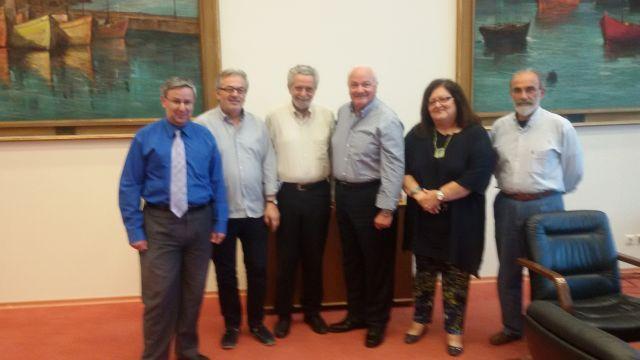 Συνάντηση Γ. Πάντζα με τον Αναπληρωτή Υπουργό Ναυτιλίας  Θ. Δρίτσα για το θέμα της ακτοπλοϊκής σύνδεσης Ερέτριας – Ωρωπού
