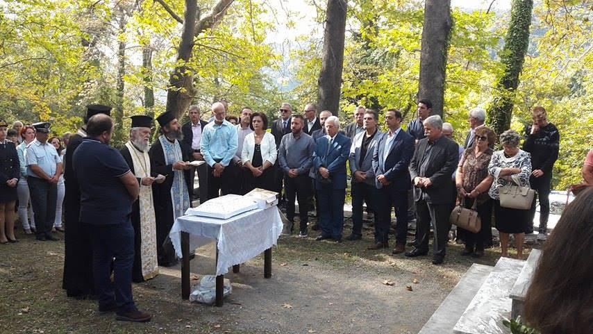 Ο Αλ. Μεϊκόπουλος τίμησε τις εκδηλώσεις μνήμης και τιμής για την 73η επέτειο του Ολοκαυτώματος Μηλεών από τα γερμανικά στρατεύματα κατοχής