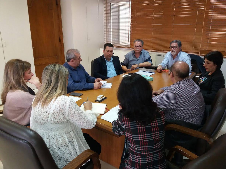 Οι βουλευτές Κρήτης του ΣΥΡΙΖΑ συναντήθηκαν με την Θ. Πέρκα και την Τζ. Ποντίκη