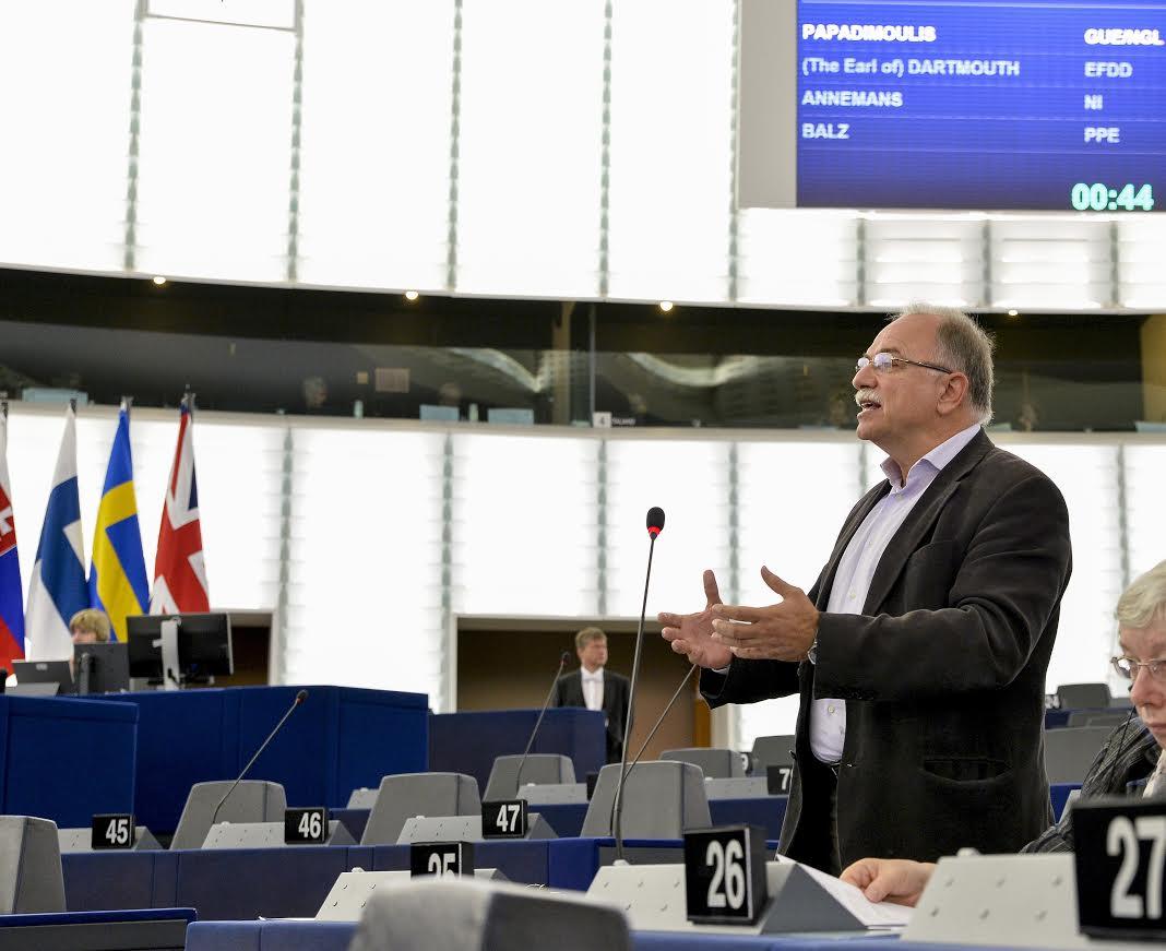 Απάντηση Κομισιόν στον Δημ. Παπαδημούλη: Χρηματοδοτική στήριξη, μέσω του Ευρωπαϊκού Κοινωνικού Ταμείου, για μέτρα που ενισχύουν την ισότητα ευκαιριών