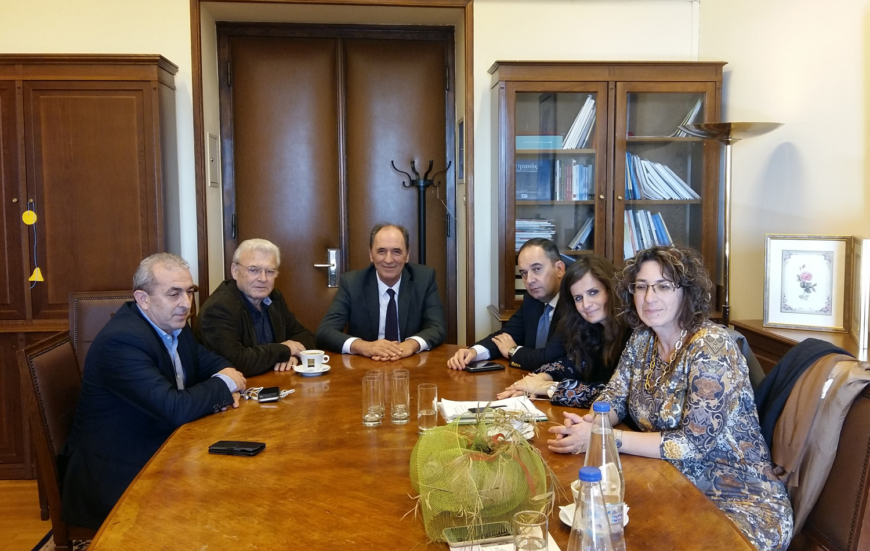Συνάντηση Βαρδάκη και Θραψανιώτη με τον Υπουργό Περιβάλλοντος για τα υποθηκοφυλακεία