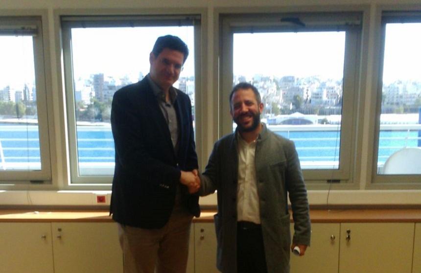 Ο Αλ. Μεϊκόπουλος στο Υπουργείο Ναυτιλίας και Νησιωτικής Πολιτικής