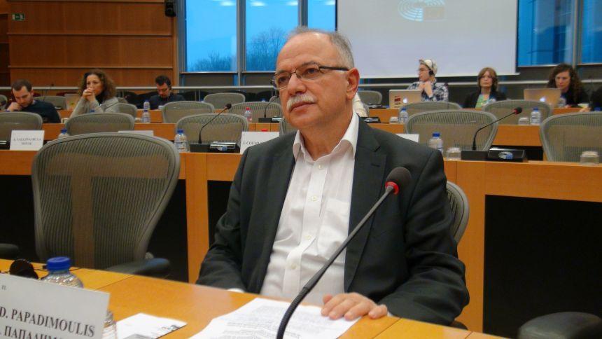 Δημ. Παπαδημούλης: Η Ε.Ε. πρέπει να εμβαθύνει σε πολιτικές που ενισχύουν την κοινωνική δικαιοσύνη, τη διαφάνεια και την ισότητα όλων των πολιτών - βίντεο