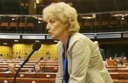 Η Σία Αναγνωστοπούλου στην Ολομέλεια της Κοινοβουλευτικής Συνέλευσης του Συμβουλίου της Ευρώπης (PACE)