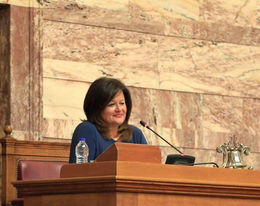 Η Χαρά Καφαντάρη στη Διακοινοβουλευτική Συνέλευση του Παγκόσμιου Οργανισμού Εμπορίου (ΠΟΕ) στη Γενεύη