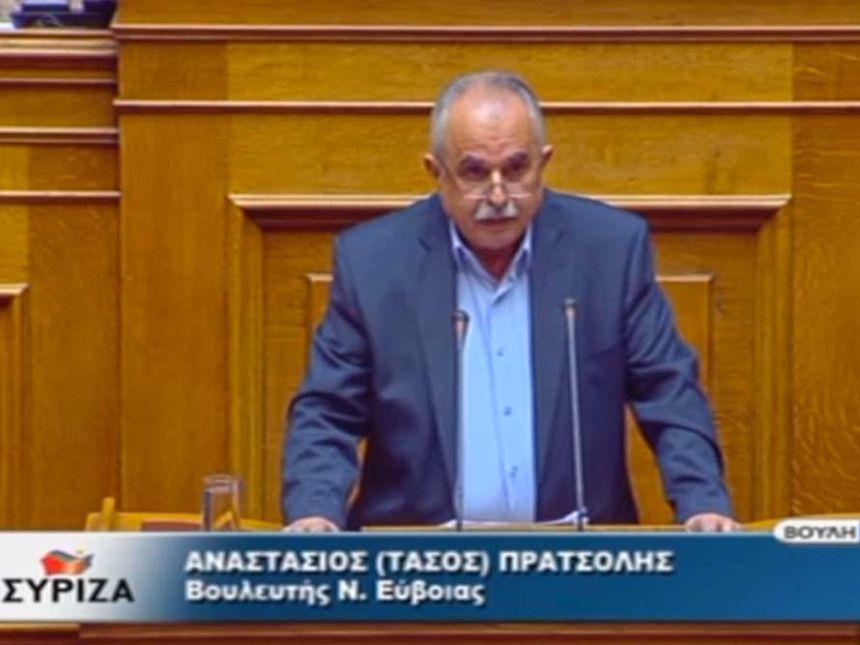 Αν. Πρατσόλης: Η Αριστερά ήταν πάντα στα δύσκολα μπροστά στους αγώνες του λαού μας για εθνική ανεξαρτησία και εθνική αξιοπρέπεια - βίντεο
