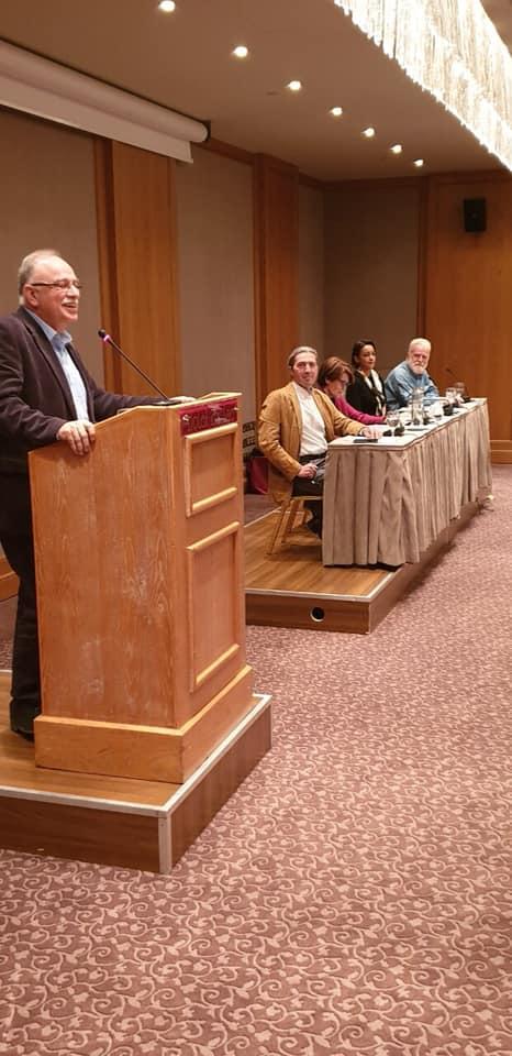 Από την ανοιχτή εκδήλωση της Ν.Ε. ΣΥΡΙΖΑ Ιωαννίνων με θέμα: «Προοδευτικό μέτωπο απέναντι στον νεοφιλελευθερισμό και την ακροδεξιά»