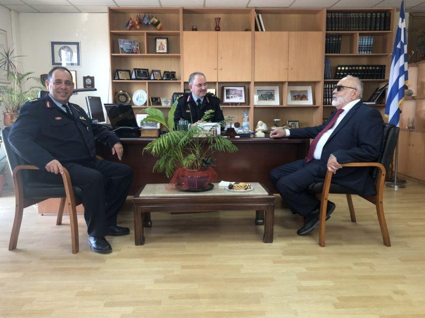 Στη Γενική Περιφερειακή Αστυνομική Διεύθυνση της Στερεάς Ελλάδας στη Λαμία
