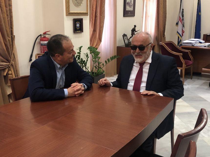 Στο δημαρχείο Λαμιέων με τον δήμαρχο κ. Νίκο Σταυρογιάννη