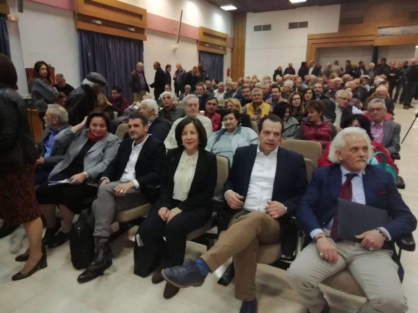 Από την ανοιχτή πολιτική εκδήλωση της Ν.Ε. ΣΥΡΙΖΑ Μεσσηνίας με θέμα: «Προοδευτικό Δημοκρατικό Μέτωπο - Η απάντηση στον ακροδεξιό κίνδυνο» - βίντεο