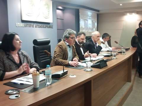 Από την ανοιχτή πολιτική εκδήλωση της Ν.Ε. ΣΥΡΙΖΑ Αιτωλοακαρνανίας με ομιλητή τον Σταύρο Αραχωβίτη