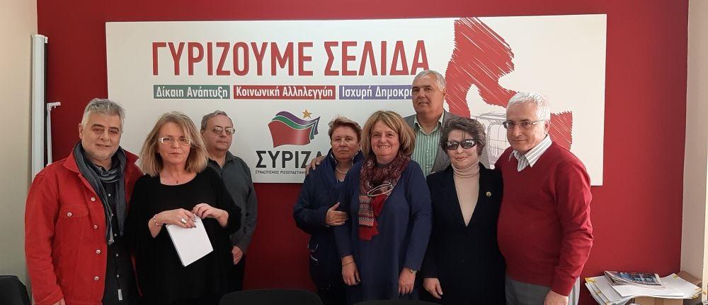 Συνάντηση αντιπροσωπείας του ΣΥΡΙΖΑ με αντιπροσωπεία του αριστερού κόμματος PODEM της Βουλγαρίας