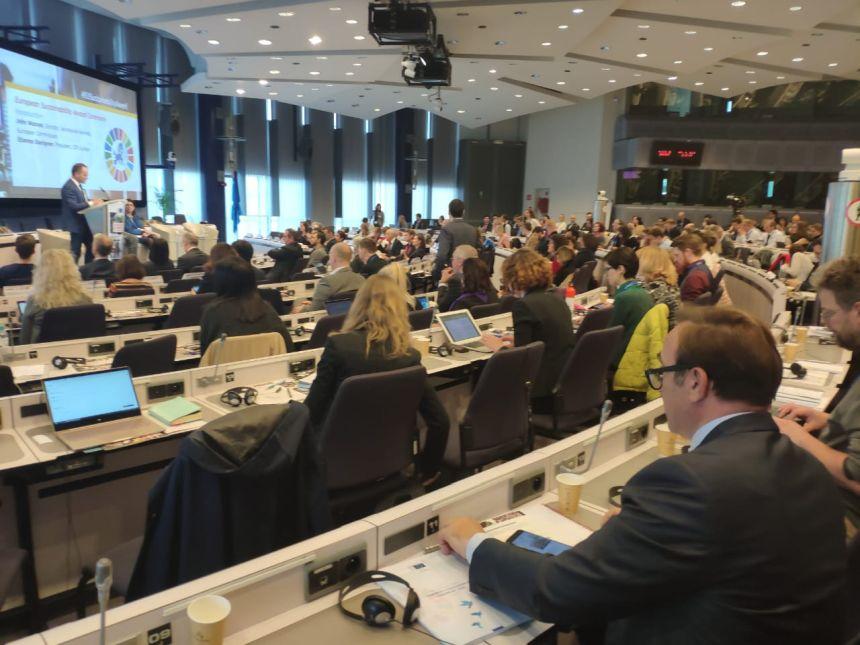 Ο υποψήφιος Ευρωβουλευτής στο συνέδριο «Sustainable Europe 2030»