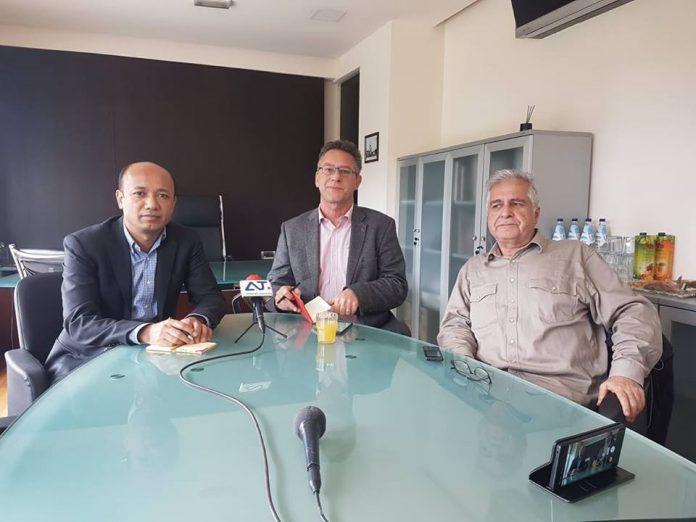Η επίσκεψη των υποψηφίων ευρωβουλευτών Κώστα Αρβανίτη και Γιονούς Μουχαμεντί στην Κω