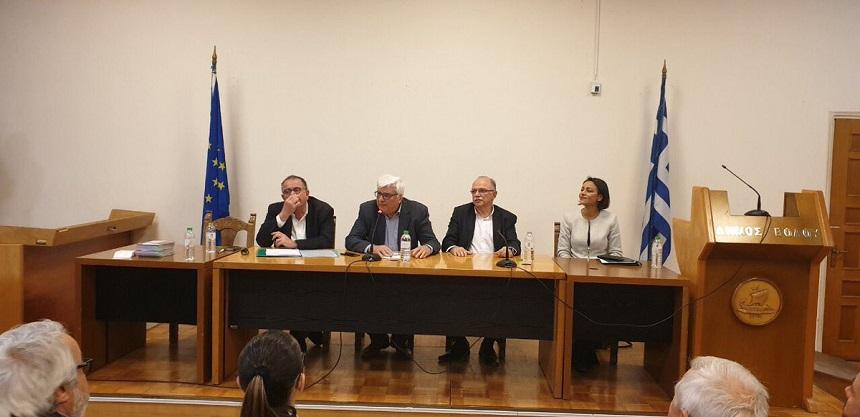 Στον Βόλο για την προοδευτική συμμαχία σε Ελλάδα και Ευρώπη εν όψει των Ευρωεκλογών της 26ης Μαΐου