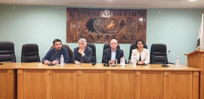 Στην Λάρισα για την προοδευτική συμμαχία σε Ελλάδα και Ευρώπη εν όψει των Ευρωεκλογών της 26ης Μαΐου