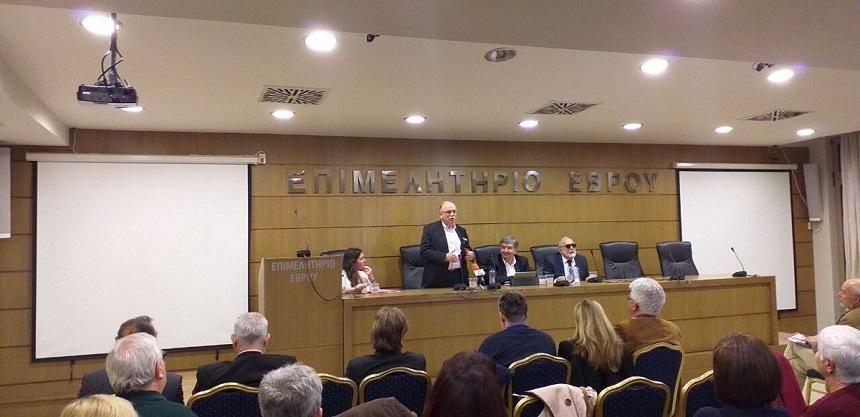 Ομιλία του Δημ. Παπαδημούλη στην Αλεξανδρούπολη για την προοδευτική συμμαχία σε Ελλάδα και Ευρώπη, ενόψει των ευρωεκλογών της 26ης Μαΐου