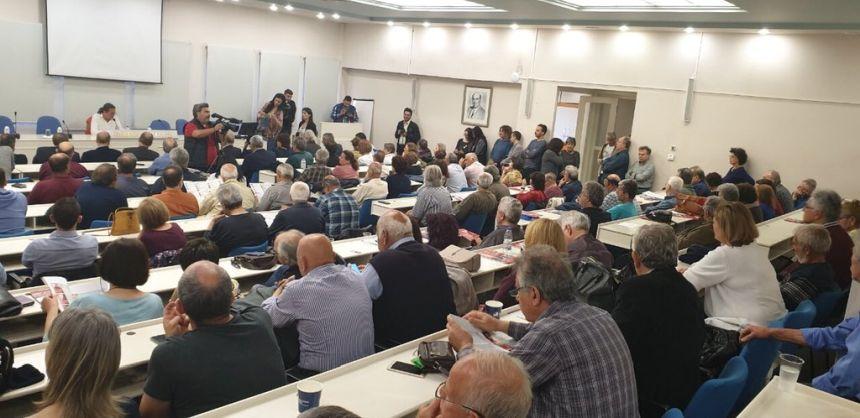 Από την ανοιχτή πολιτική εκδήλωση του ΣΥΡΙΖΑ - Προοδευτική Συμμαχία στα Χανιά