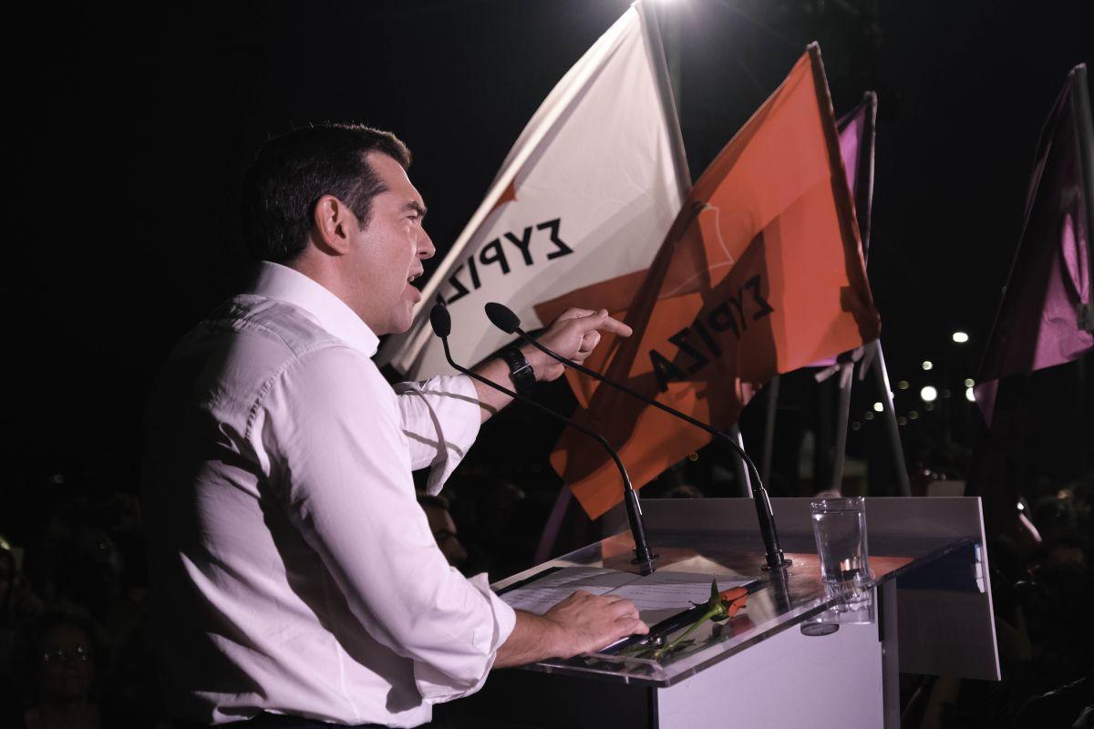 Περιοδεία και ομιλία του Πρωθυπουργού και Προέδρου του ΣΥΡΙΖΑ, Αλέξη Τσίπρα στο Βόλο