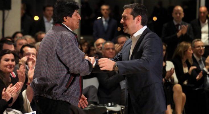 Αλ. Τσίπρας: Ο αγώνας για την Δημοκρατία στη Βολιβία και στην Λατινική Αμερική είναι αγώνας που μας αφορά όλες και όλους