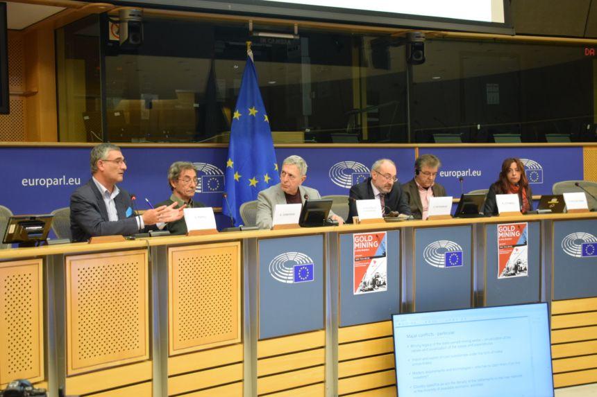 Μεγάλη εκδήλωση Αρβανίτη-Κούλογλου στο Ευρωπαϊκό Κοινοβούλιο για την εξόρυξη χρυσού
