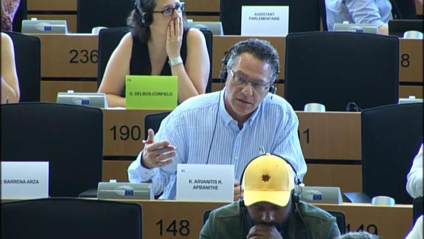 Κ. Αρβανίτης: Ο κ. Σχοινάς είναι πλέον Ευρωπαίος Επίτροπος και όχι αφισοκολλητής του Μητσοτάκη - Ας το πάρει απόφαση!