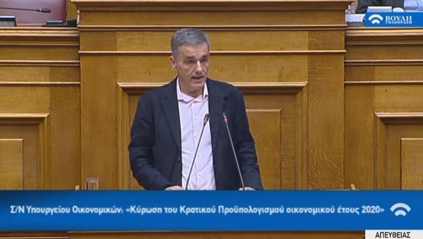 Ευ. Τσακαλώτος: Μεγάλη η ευθύνη του κ. Αυγενάκη για την κατάστασαη που δημιουργήθηκε. Παρέμβαση στο αυτοδιοίκητο του ποδοσφαίρου η τροπολογία