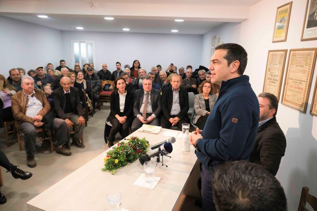 Επίσκεψη του Αλέξη Τσίπρα στο νομό Λακωνίας