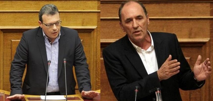 Σ. Φάμελλος - Γ. Σταθάκης: Κατεδάφιση αυθαίρετων κατασκευών στη Μακρόνησο