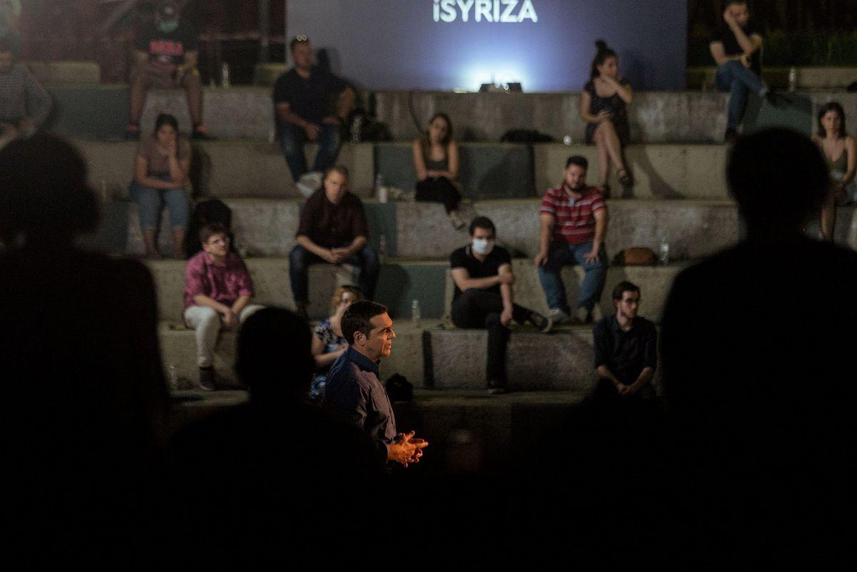 Αλ. Τσίπρας: Δίνουμε έμφαση στη νέα γενιά για να τους δώσουμε την προοπτική να ονειρευτούν και να σχεδιάσουν το μέλλον τους