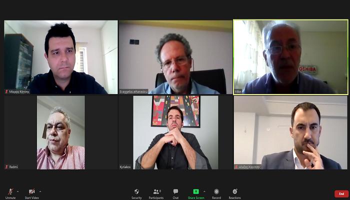 Τηλεδιάσκεψη με εκπροσώπους του Περιφερειακού Τύπου