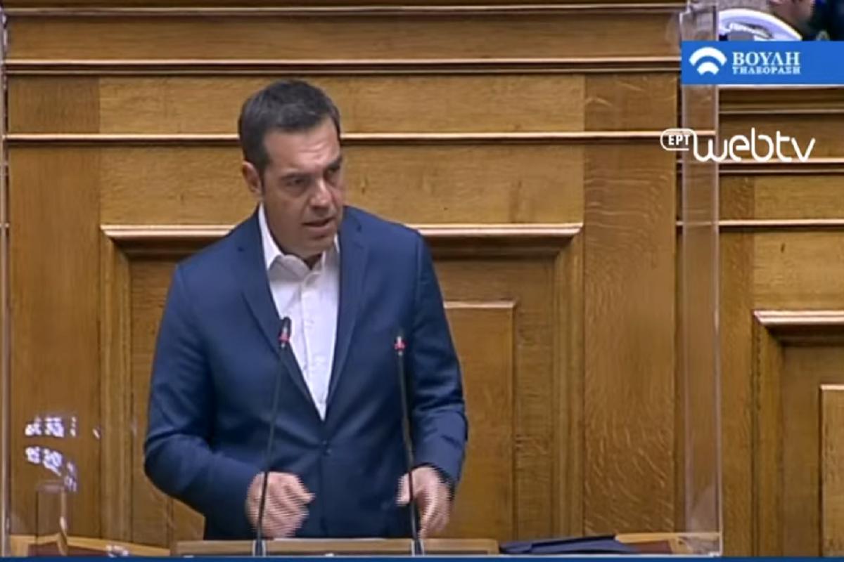 Αλ. Τσίπρας: Να εμφανιστεί ο Κυρ. Μητσοτάκης, σύγκληση τώρα του ΚΥΣΕΑ - βίντεο