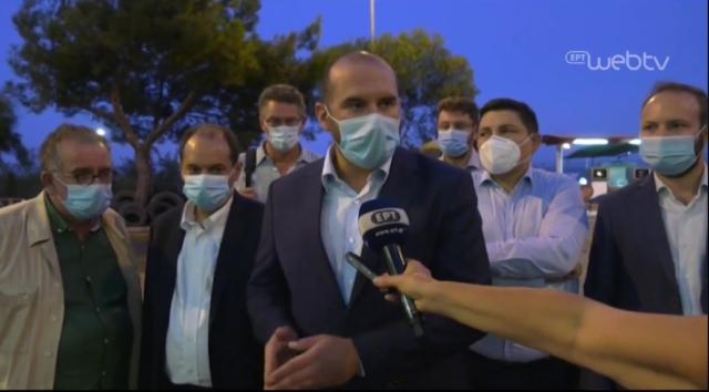 Δημ. Τζανακόπουλος από Λέσβο: Ένοχος ο Κ. Μητσοτάκης και η ΝΔ για αυτή την δραματική κατάσταση - Βίντεο