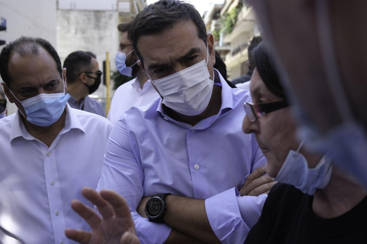 Αλ. Τσίπρας: Εικόνα ολικής καταστροφής στην Καρδίτσα, μέτρα ασπιρίνες από την κυβέρνηση