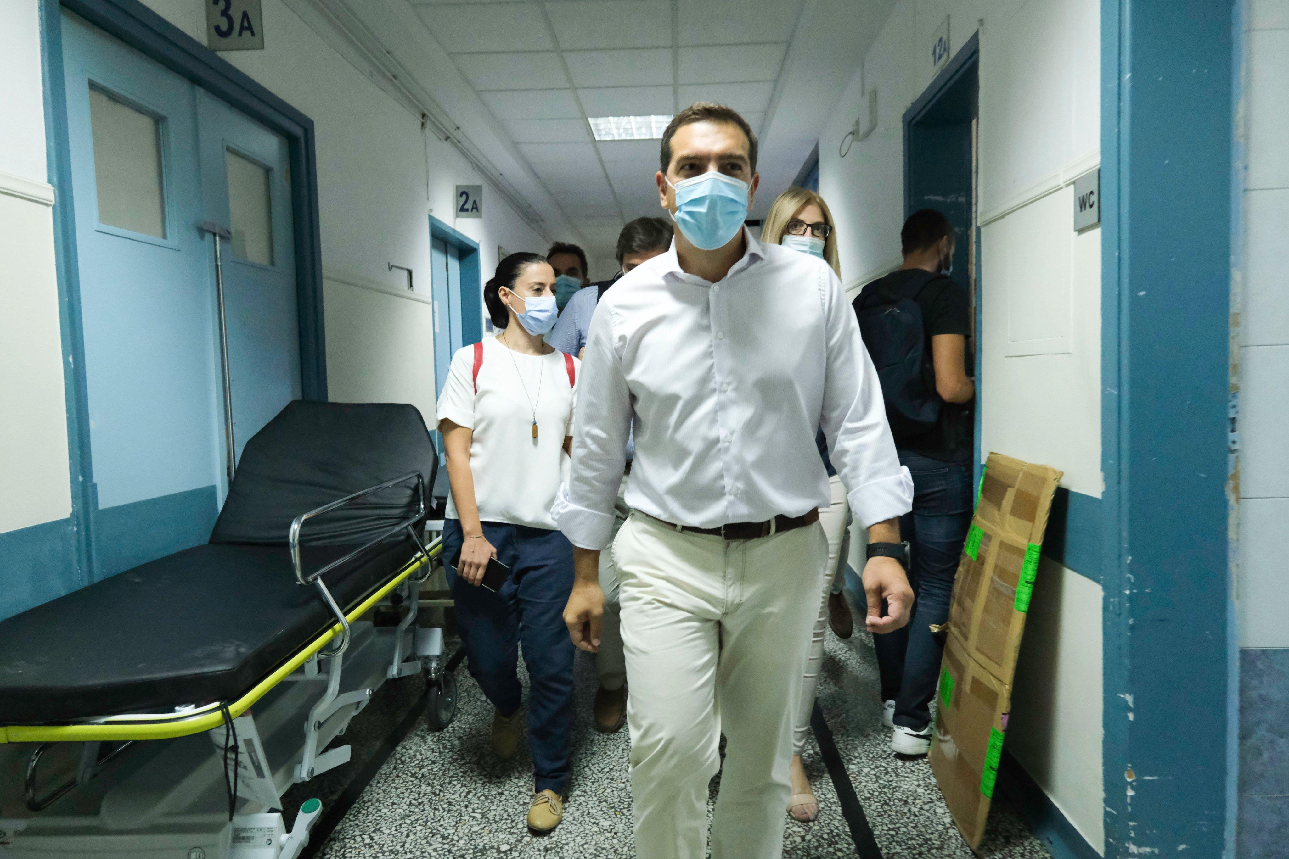 Αλ. Τσίπρας: H ευθύνη δεν ανήκει στους πολίτες και στους γιατρούς, η ευθύνη ανήκει στην κυβέρνηση - βίντεο