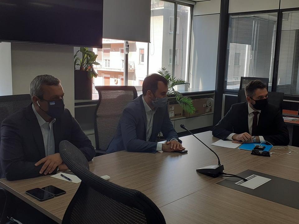 Συνάντηση εκπροσώπων του ΣΥΡΙΖΑ και της Διοίκησης του Βιοτεχνικού Επιμελητηρίου της Αθήνας